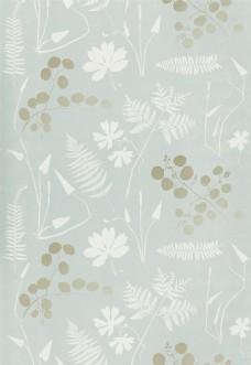 银白色花纹布纹壁纸