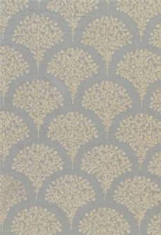 扇形花纹布艺壁纸图片