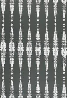 黑白线条布艺壁纸图片