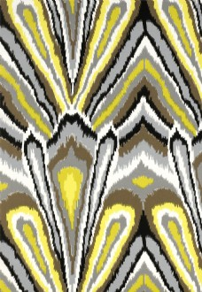 黄色花纹无缝壁纸图片