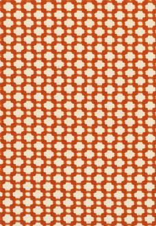 红色格子布艺壁纸图片