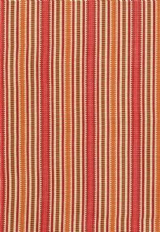 红色条纹布艺壁纸图片