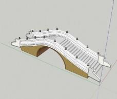 簡易的石拱橋