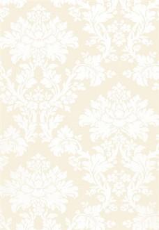 米黄色花纹布艺壁纸图片