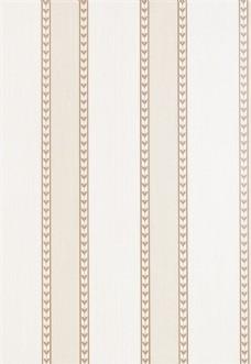 白色条纹布艺壁纸图片