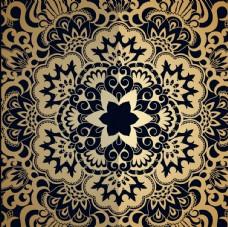 金色装饰图案 欧式金色花纹