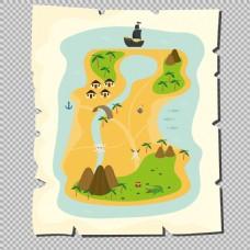 各种海盗元素图标免抠png透明图层素材