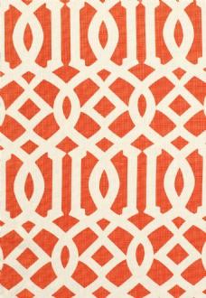 卡橘色布纹边框壁纸图片