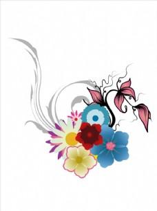 植物花朵花卉矢量图下载