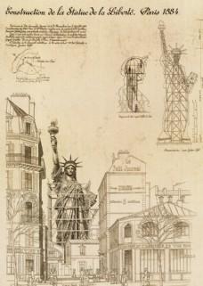 欧美建筑图纸 装饰绘画