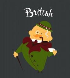 英国男子插图